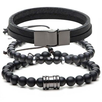 combo-pulseira-masculina-all-black-key-design
