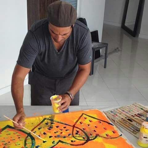 """""""Mi Chayanne Picasso"""": tan Bello y juicioso como siempre.  Pero toca hacerlo pintar, o realizar esculturas, más seguido."""