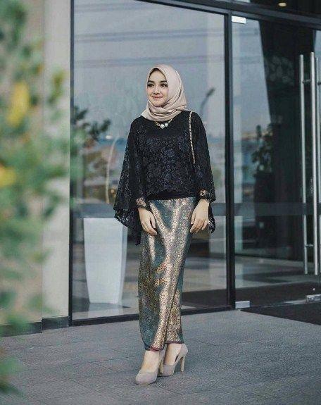 Contoh Model Kebaya Embos 2019 Model Pakaian Muslim Model