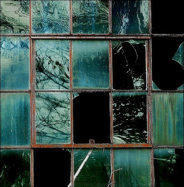 Don Taylor - aqua marine window panes