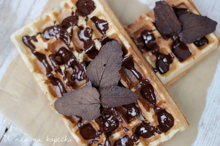 U nás na kopečku: Belgické wafle