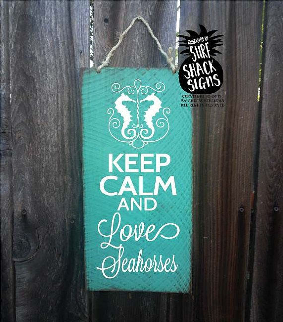 seahorse decor seahorse decoration seahorse sign by SurfShackSigns