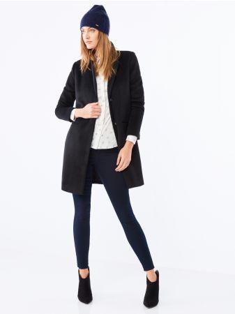 Mohito - Kalhoty skinny s vysokým pasem Klasické kalhoty s nohavicemi, které se dole výrazně zužují. Po celé délce přiléhají k tělu. Čtyři kapsy. Vysoký pas.