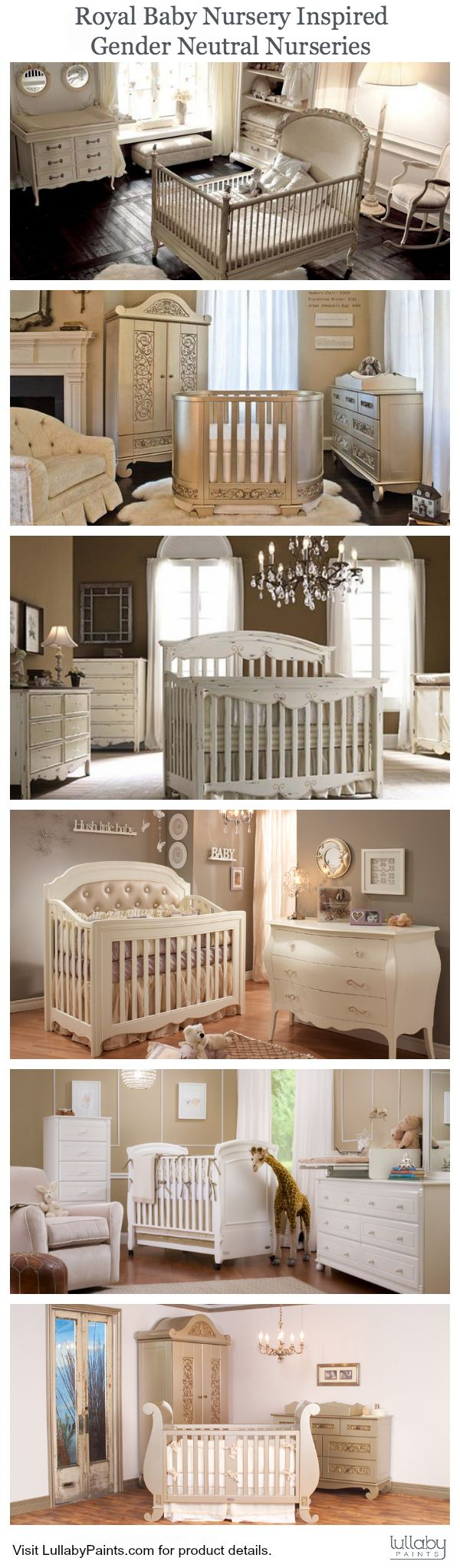 Royal Baby Nursery Inspiration: Neutral #Nursery Ideas