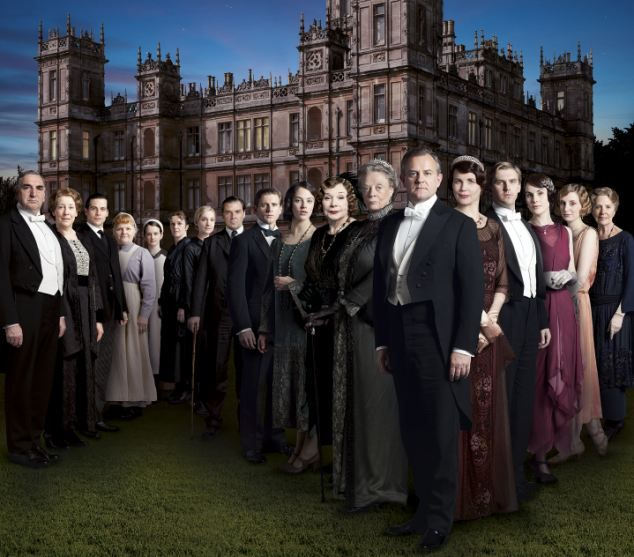The final schedule sees Coronation Street and Call the Midwife go head to head at 7.30pm, and EastEnders will air at the same time as Downton Abbey, pictured