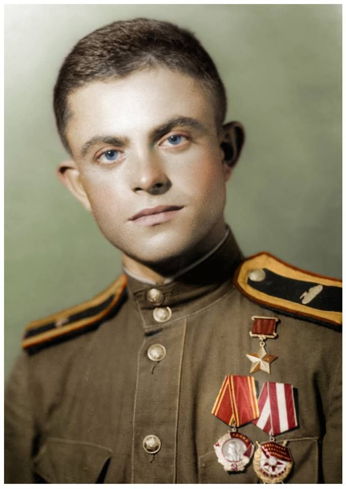 Hero Of The Soviet Union Peter A. Vlasenko
