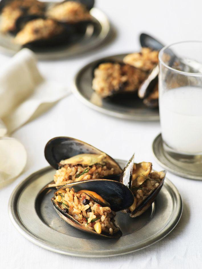 Midye Dolma - Turkish stuffed mussels