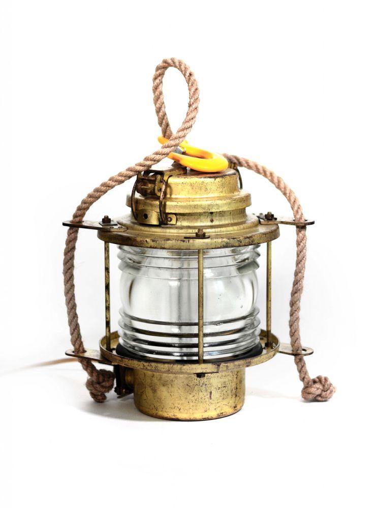 Boat Lamp Gold
