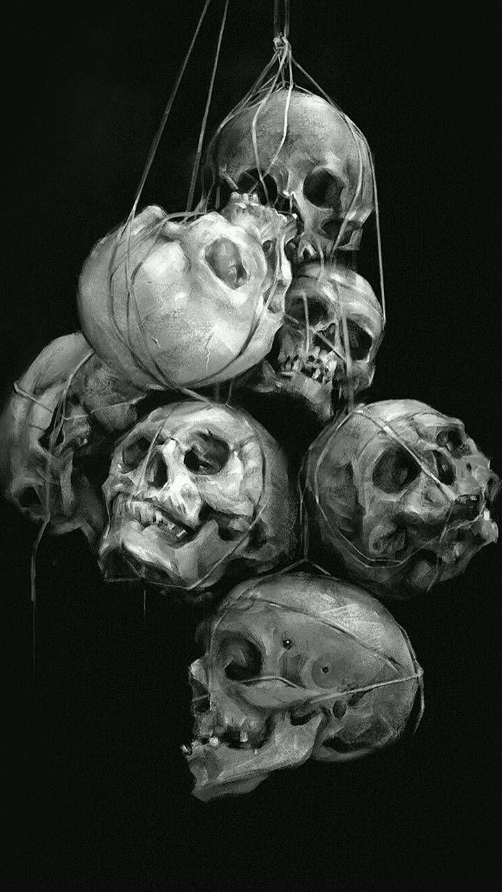 Download Skulls Wallpaper By Studio929 6a Free On Zedge Now Browse Millions Of Popular 4k Wallpapers And Ri Skull Painting Skull Wallpaper Skulls Drawing Skull tattoo 4k wallpaper