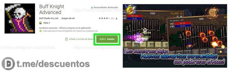 Videojuego Buff Knight para Android GRATIS - http://ift.tt/2nbmF08