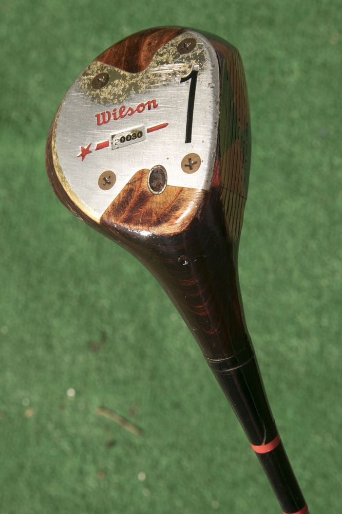 Wilson Billy Casper Shot Maker 1 Wood Vintage Wooden Wood Used Golf Club Wilosn Best Golf Clubs Golf Clubs Used Golf Clubs