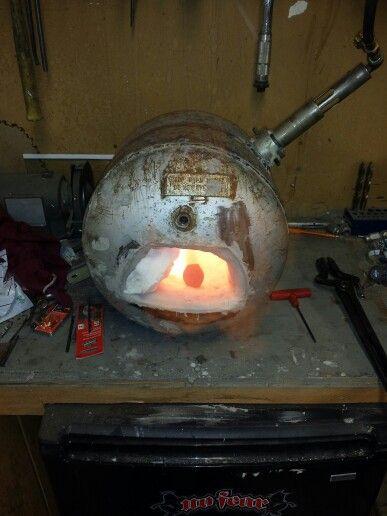 What Is Propane >> My propane tank forge | old school | Pinterest | Propane ...