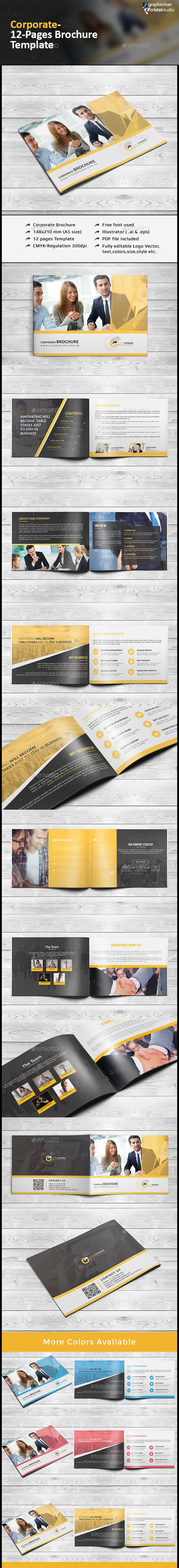 55 best Multi Pages Brochure Template images on Pinterest | Brochure ...