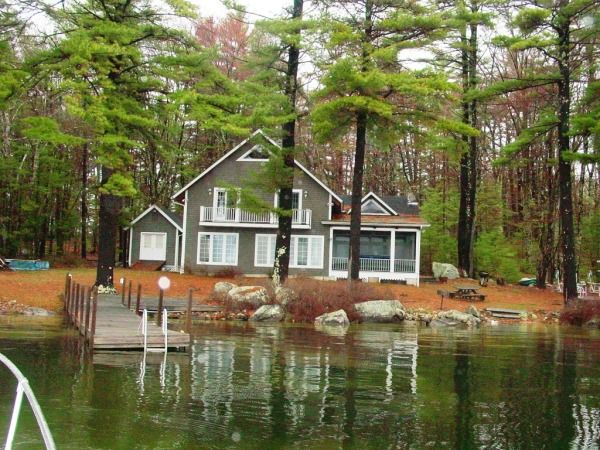 Lake Winnipesaukee Real Estate, Auction, for sale in Meredith NH LakeHouse.com 309 Bear Island 499955