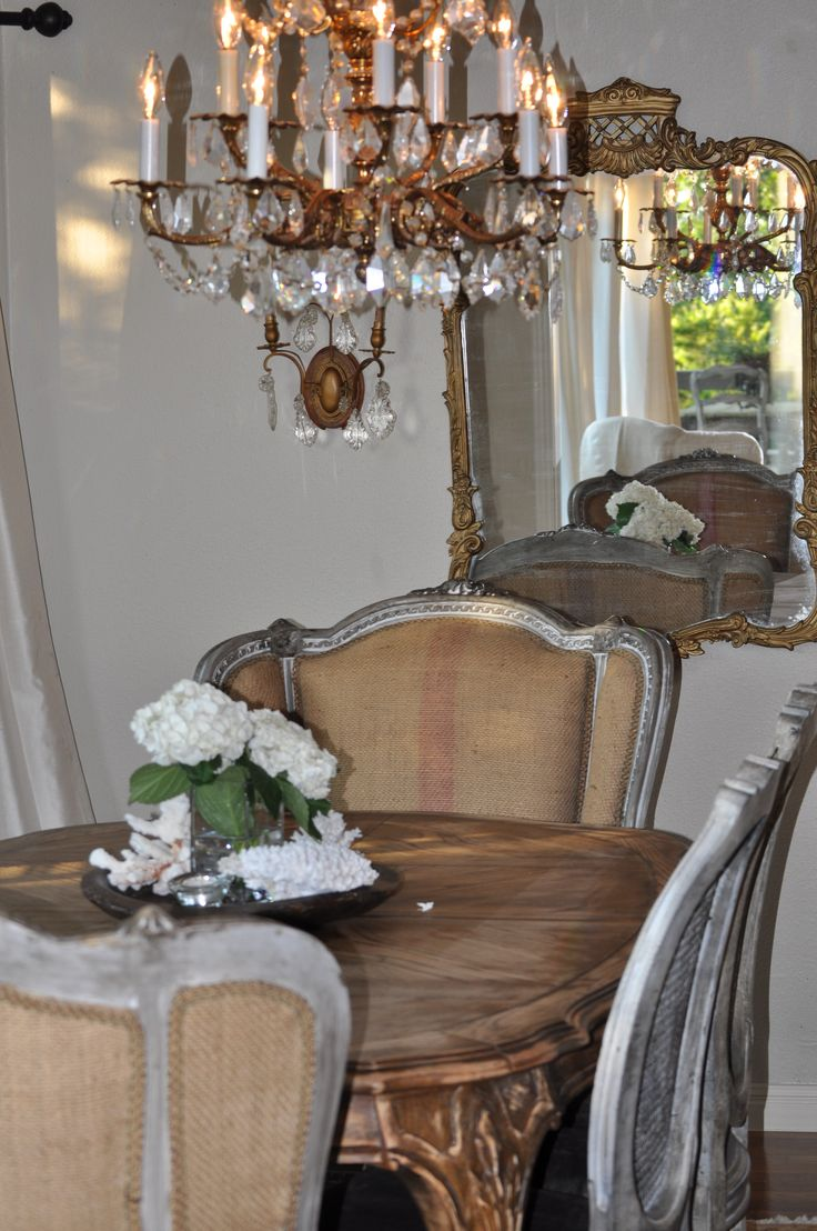 540 best images about dining room ideas on pinterest for Romantic dining room ideas
