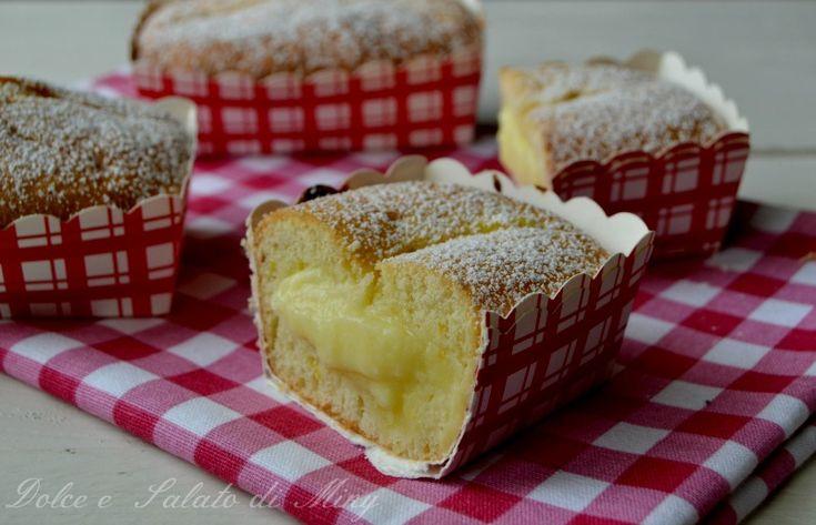Tortine con crema al limone, facili da preparare, senza bisogno di conservarle in frigorifero con la crema a cottura.