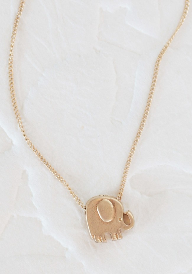 Elly The Elephant Necklace