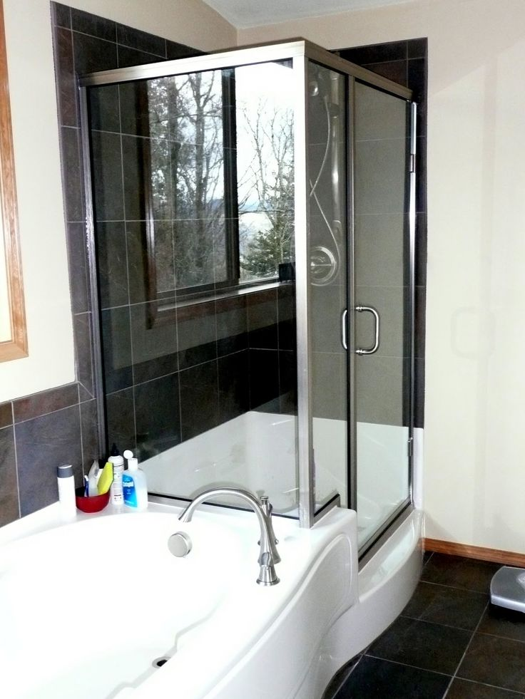 Accessories Furniture Impressive Jetted Tub Shower Combo