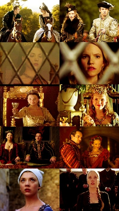 The Tudors,,, Anne Boleyn and Katherine Howard, they both lost there heads ordered by the King they Loved,,, They were so much alike ,,, D.H.