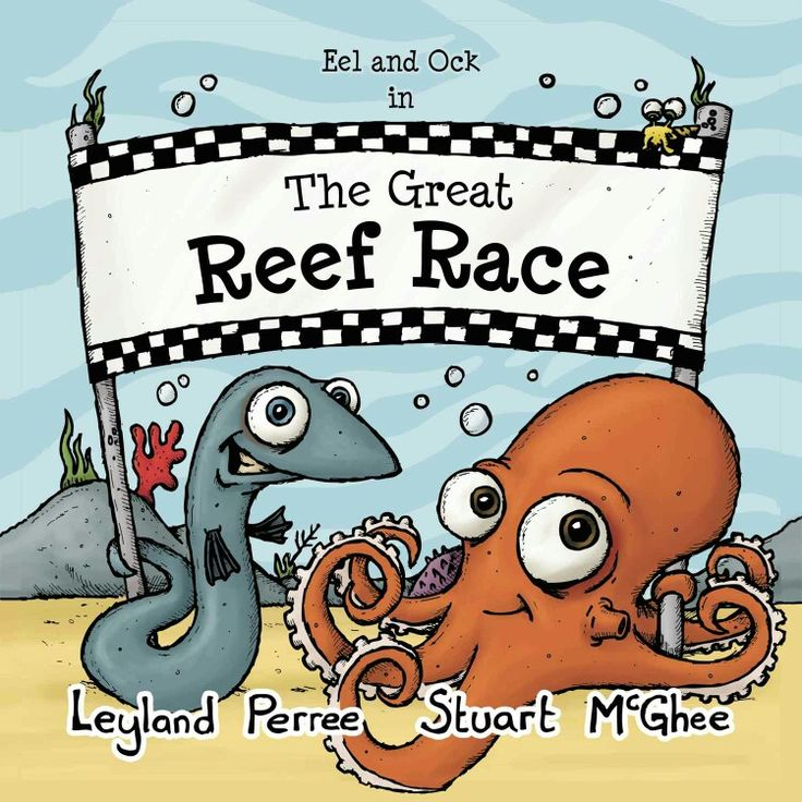 The Great Reef Race - an undersea adventure about friendship, fair play and good sportsmanship