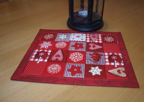 Vánoční dečka- perníčky