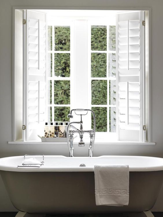 Roll Top Bath and Cowshed Products | Babington House Bathroom