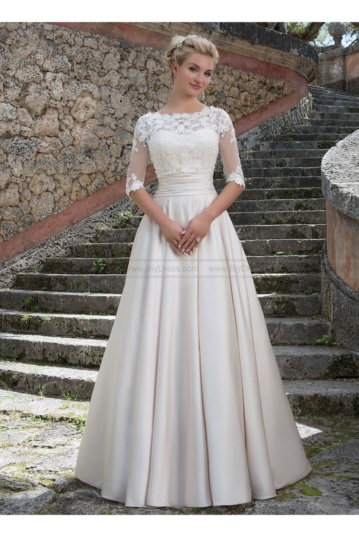 Sincerity Bridal Wedding Dresses Style 3877 Grace Kelly Inspired Ball Gown USD42900 56