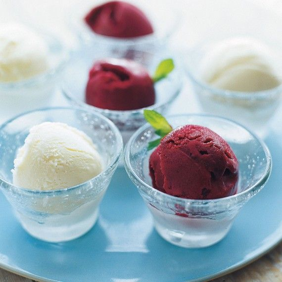 Blackcurrant, Mint and Cassis Sorbet - Woman And Home