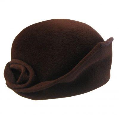 Céline Robert - Chipsy - Mocca cloche hat