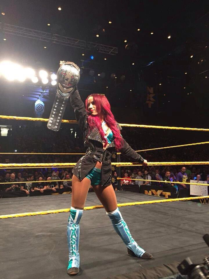 Sasha Banks (The Boss)....New champion of NXT org. by June, 2015.