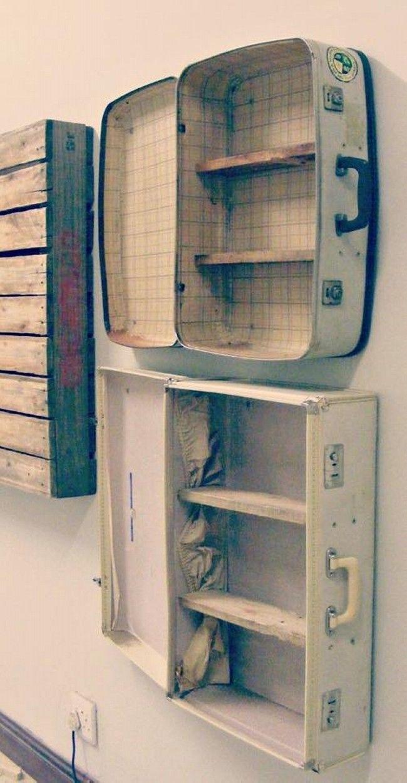 Ideas to Repurpose Old Suitcases