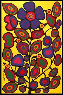 NORVAL MORRISSEAU BLOG: Norval Morrisseau: 'Best Canadian painter ever'