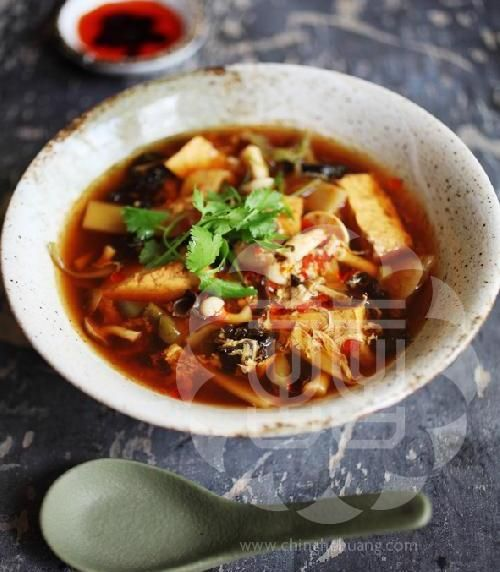 China - Hot and Sour Soup Ching-He Huang Chinese Cooking