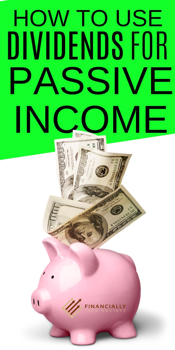 Using Dividends for Passive Income