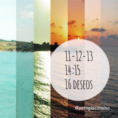 """#IDEAGENES 81 - """" 11-12-13 14:15 16 DESEOS """" #cita #quote #Concepto Imaginaxión #ComunicacionVisual ( IDEAS EN IMÁGENES ) BY @PATO GIACOMINO"""