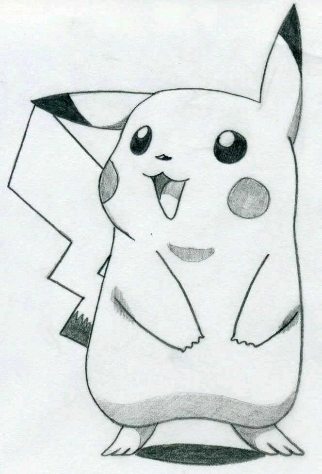 Adorable Sketch Of The Most Pokemon