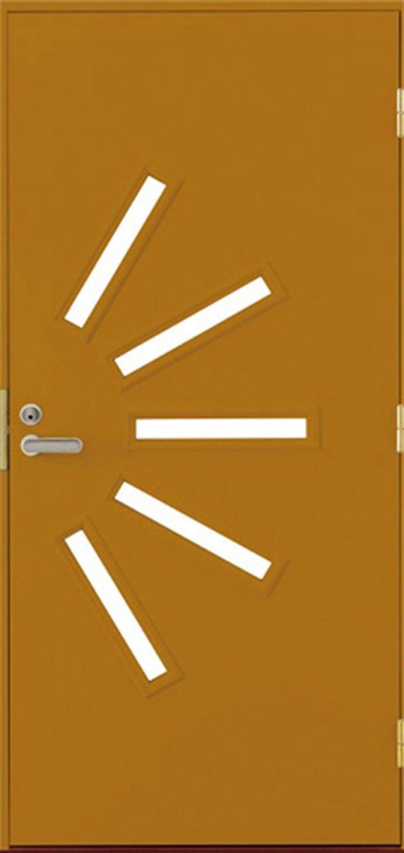 Ovi monilla mahdollisuuksilla: voit valita oven koon, värin ja lisätarvikkeet mielesi mukaan. - Door with multiple choices: pick size you need, choose color and other features.