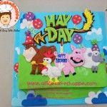 Hay Day customised cake. A Little CakeShoppe Singapore