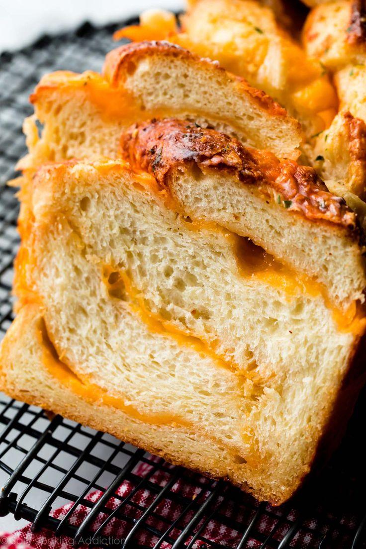 Homemade Cheese Bread - Extra Soft | Sally's Baking Addiction