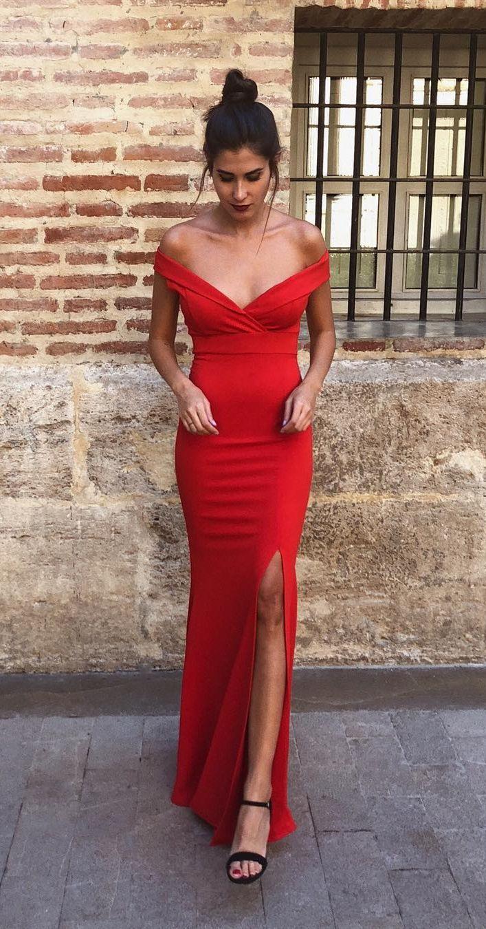 20+ Bodycon slit prom dress trends