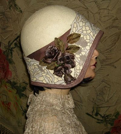 1920's style hat designed by Berti Borrell.1920S Cloche, 1920S Style, Mad Hatters, About 1920S, 1920 Hats, Vintage Design, 1920S Hats, Lady 1920S, 1920S 1930S