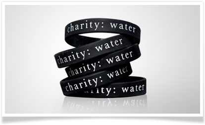 Support charity: water and get cool swag. It's a win-win!