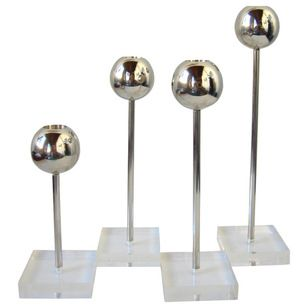 Contemporary Candleholders by Boom USA
