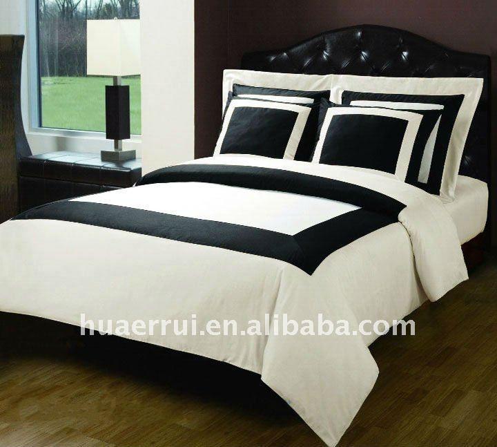Negro blanco& moderno rayas ropa de cama edredones establece/hoja de cama-imagen-Productos Cama-Identificación del producto:508538950-spanish.alibaba.com