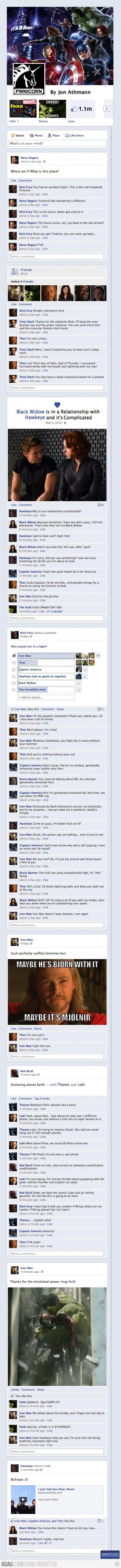 The Avengers! :D