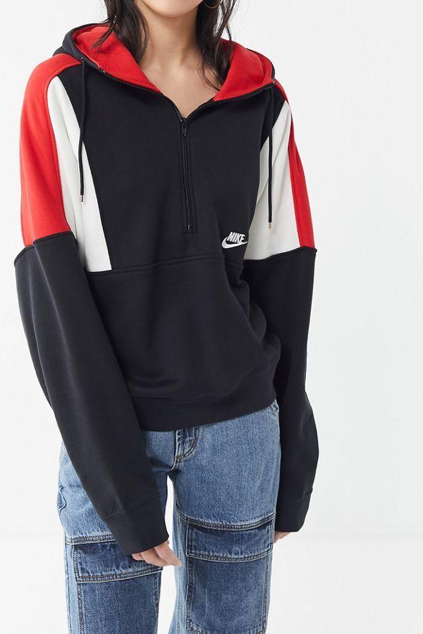 Slide View  4  Nike Reissue Half-Zip Hoodie Sweatshirt 80756204d