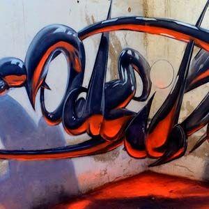 """El graffiti en Portugal ha evolucionado a lo largo de los últimos años con un número impresionante de artistas. Uno de los nombres destacados de la escena portuguesa es Odeith, un todoterreno de el graffiti desde 1996. Mediante la perspectiva de las esquinas en las paredes, Odeith crea una ilusión óptica con la que dota a su arte un efecto 3d y """"bump"""" realmente impresionante."""