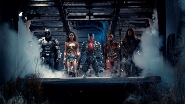 ATUALIZADO em 08/01/2017com nova foto de Batman (Ben Affleck), Mulher-Maravilha (Gal Gadot), Cyborg (Ray Fisher), Flash (Ezra Miller) e Aquaman (Jason Momoa):