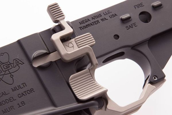 High Velocity Arms ASRS! – Advanced Safety Receiver System (Prototype) in NiB-x          TRIGGER FINGER INDEXING TRIGGER GUARD AMBIDEXTROUS BOLT RELEASE AMBIDEXTROUS MAGAZINE RELEASE