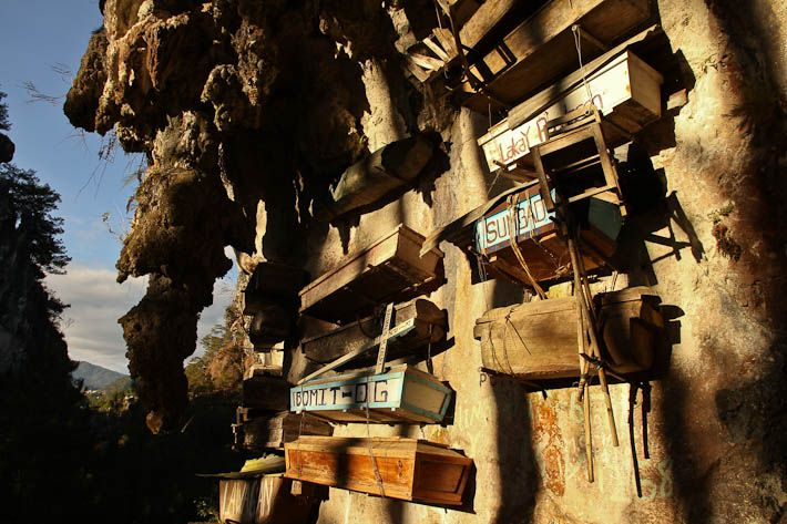 #Sagada and the hanging coffins, in the #Philippines